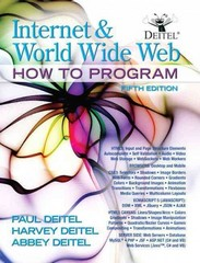 Internet and World Wide Web How To Program 5th Edition 9780133072792 0133072797
