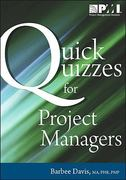 Quick Quizzes for Project Managers 0 9781935589105 1935589105