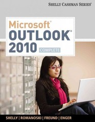 Microsoft Outlook 2010 1st edition 9780538475303 0538475307
