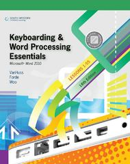 Keyboarding and Word Processing Essentials, Lessons 1-55: Microsoft Word 2010 (College Keyboarding) 18th edition 9780538495387 0538495383