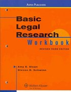 Basic Legal Research Workbook, Revised Third Edition 3rd edition 9780735598218 0735598215