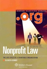 Nonprofit Law 0 9780735598461 0735598460