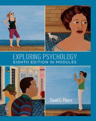 Exploring Psychology In Modules 8th edition 9781429216364 1429216360