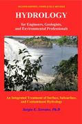 Hydrology for Engineers, Geologists, and Environmental Professionals 2nd Edition 9780965564342 0965564347