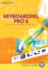 Keyboarding Pro 6, Student License (with User Guide and CDROM) 6th Edition 9780840053329 0840053320