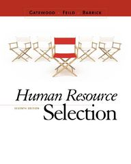 Human Resource Selection 7th Edition 9780538469944 0538469943