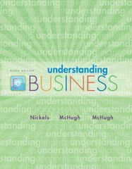 Understanding Business Loose-Leaf Edition 9th edition 9780077389567 0077389565