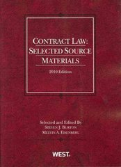 Contract Law 2010th Edition 9780314920171 031492017X