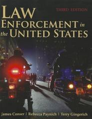 Law Enforcement In The United States 3rd Edition 9780763799380 0763799386