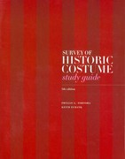 Survey of Historic Costume Study Guide 5th Edition 9781609012212 1609012216