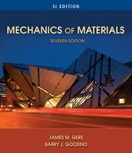 Mechanics of Materials, SI Edition 7th edition 9780495438076 0495438073