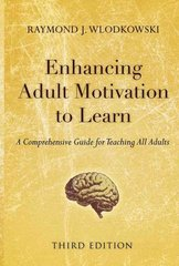 Enhancing Adult Motivation to Learn 3rd edition 9780787995201 0787995207