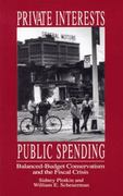 Private Interests, Public Spending 1st Edition 9780896084643 0896084647