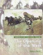 The Opening of the West 0 9780761412014 0761412018