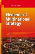 Elements of Multinational Strategy 1st Edition 9783540744382 354074438X