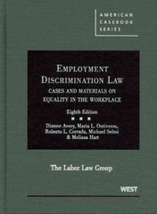 Employment Discrimination Law 8th edition 9780314190949 0314190945