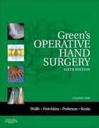 Green's Operative Hand Surgery 7th Edition 9780323295345 0323295347