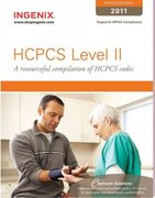 HCPCS Level II Professional 2011 1st edition 9781601514158 1601514158