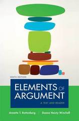 Elements of Argument 9th edition 9780312480479 0312480474