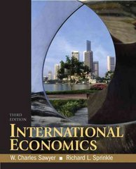 International Economics 3rd edition 9780136054696 0136054692