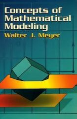 Concepts of Mathematical Modeling 1st Edition 9780486137247 0486137244