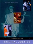 Criminal Justice (with InfoTrac) 7th Edition 9781111348328 1111348324