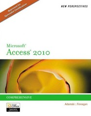 New Perspectives on Microsoft Access 2010, Comprehensive 1st edition 9781133008767 1133008763