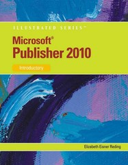 Microsoft Publisher 2010 1st Edition 9780538749503 0538749504