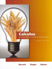 Calculus for Business, Economics, Life Sciences & Social Sciences plus MyMathLab/MyStatLab Student Access Code Card 12th edition 9780321709011 0321709012