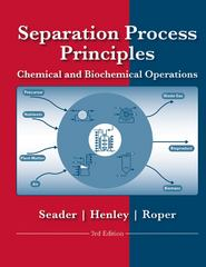 Separation Process Principles 3rd Edition 9781118139615 1118139615