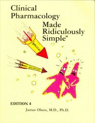 Clinical Pharmacology Made Ridiculously Simple 4th Edition 9781935660002 1935660004