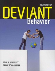Deviant Behavior 2nd edition 9780763797737 0763797731