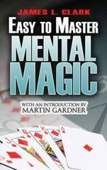 Easy-to-Master Mental Magic 0 9780486479545 0486479544