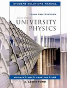 Student Solutions Manual for University Physics Vols 2 and 3 12th edition 9780321500380 0321500385
