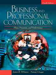 Business and Professional Communication 4th edition 9780205581856 0205581854