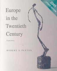 Europe in the Twentieth Century 4th edition 9780618915200 0618915206