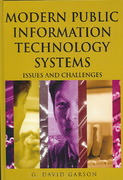 Modern Public Information Technology Systems 1st Edition 9781599040516 1599040514