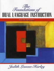 The Foundations of Dual Language Instruction 5th Edition 9780205593279 0205593275