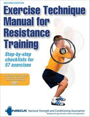 Exercise Technique Manual for Resistance Training 2nd Edition 9780736071277 073607127X