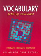 Vocabulary for the High School Student 4th edition 9781567651157 1567651151