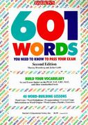 601 Words You Need to Know to Pass Your Exam 2nd edition 9780812042320 0812042328