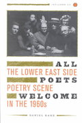 All Poets Welcome 1st edition 9780520233850 0520233859