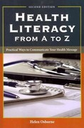Health Literacy From A To Z 2nd Edition 9781449600532 1449600530