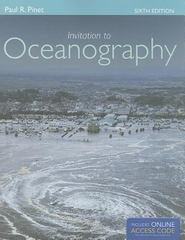 Invitation to Oceanography 6th Edition 9781449601911 144960191X