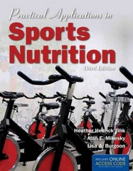 Practical Applications In Sports Nutrition - BOOK ALONE 3rd edition 9781449602086 1449602088
