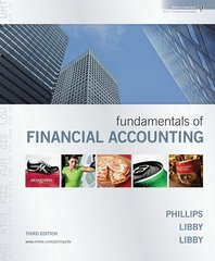 Fundamentals of Financial Accounting with Annual Report + Connect Plus 3rd edition 9780077398200 0077398203