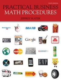 Practical Business Math Procedures with Business Math Handbook, Student DVD, WSJ insert + Connect Plus 10th edition 9780077398286 0077398289