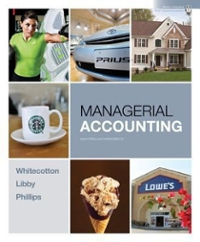 Loose-Leaf Managerial Accounting with Connect Plus 1st Edition 9780078011696 0078011698