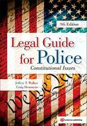 Legal Guide for Police 9th Edition 9781437755886 1437755887