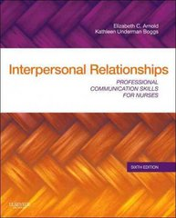 Interpersonal Relationships 6th edition 9781437709445 1437709443
